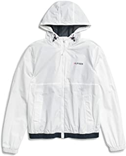 Adaptive Men's Rain Jacket with Magnetic Zipper