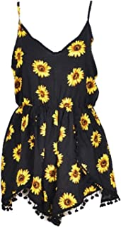 Best sunflower print romper Reviews