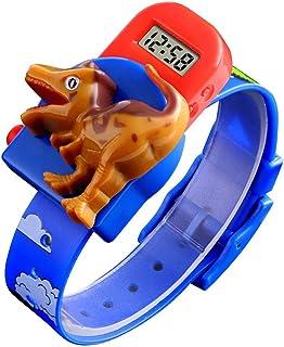 Orologio Bambino XYBB Orologio digitale a forma di dinosauro creativo per orologio da polso di cartone animato giocattolo ...