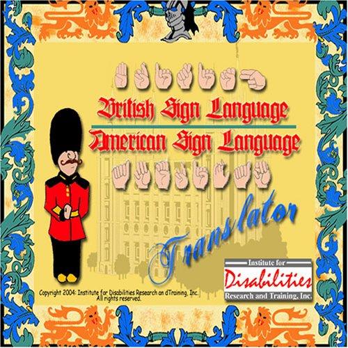 BSL British Sign Language to/from ASL American Sign Language Translator
