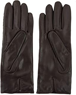 Luxury Fashion   Sermoneta Gloves Womens SG1110724020 Brown Gloves   Season Permanent