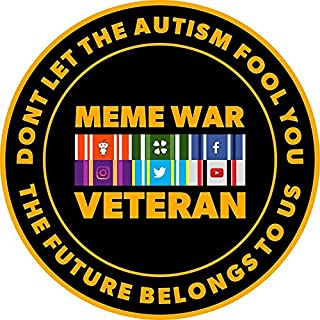 MAGNET Meme War Veteran Magnet Decal Fridge Metal Magnet Window Vinyl 5