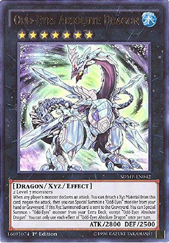 YU-GI-OH! - Odd-Eyes Absolute Dragon (SDMP-EN042) - Structure Deck: Master of Pendulum - 1st Edition - Ultra Rare