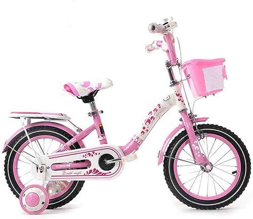 Kinderfürr r HAIZHEN Kinderwagen Trainingsr rn für 12 14  16 18  mädchen Jungen Baby fürrad Rosa, Lila Für Neugeborene (Farbe   Rosa, Größe   18 inch)