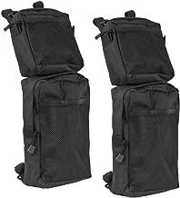 Everrich Universal ATV Fender Bags 2-Pack ATV Tank Saddle Bags waterproof-Cargo Storage Storage Pack Hunting Bags (Black)