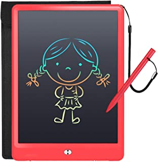 LCD Writing Tablet with Sleeve Case, LFragrant 10 Inch Electronic Graphics Drawing Pads, Drawing Board eWriter, Digital Ha...