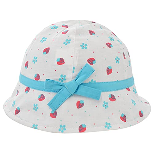 762bc3a03b1 Girl Cherries Sun Protection Bucket Hat Kids 50+ SPF UV Protective Wide Brim