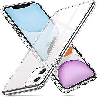 ORNARTO Funda iPhone 11, 9H Cristal Templado [HD Clara] [Resistente a los Arañazos] + Borde de Silicona Suave Bumper Anti-Choques y Anti-Arañazos para Apple iPhone 11(2019) 6,1