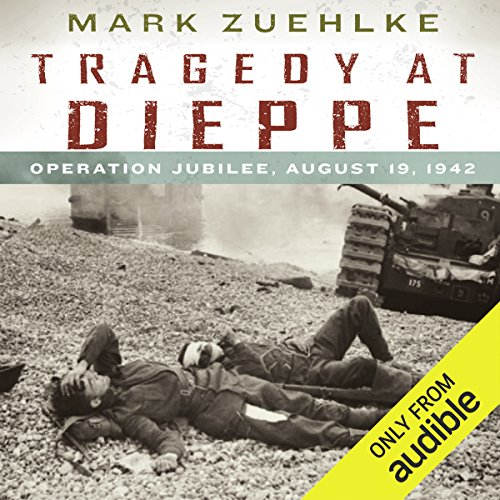 Tragedy at Dieppe audiobook cover art