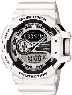 Men's G-Shock GA400-7A White Plastic Quartz Sport Watch