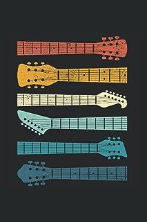 Kalender 2022: Vintage-Gitarren Gitarrist Blues Rock Musikliebhaber Terminkalender DIN A5 Organizer mit 120 Seiten   Notiz...