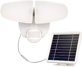 Solar Security Light Outdoor, 5000mAh 1000LM Solar LED Motion Sensor Light with 2 Adjustable Head, 5000K, Waterproof Flood...