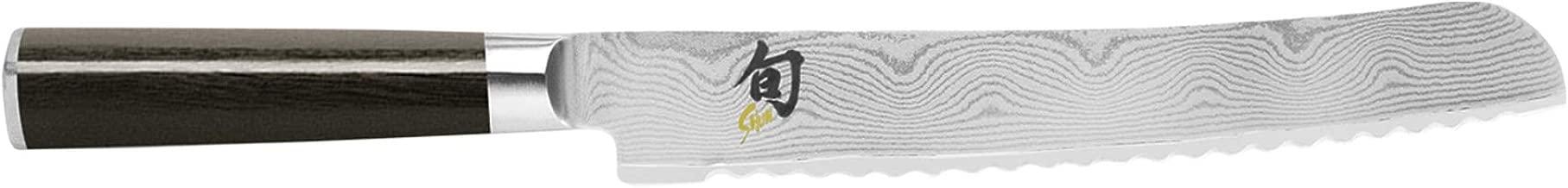 Kai Shun Classic Bread Kitchen Knife 22.9cm, Stainless Steel, DM0705