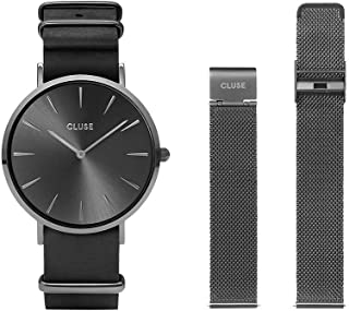 CLUSE Mens Analogue Quartz Watch with Stainless Steel Strap CLG015