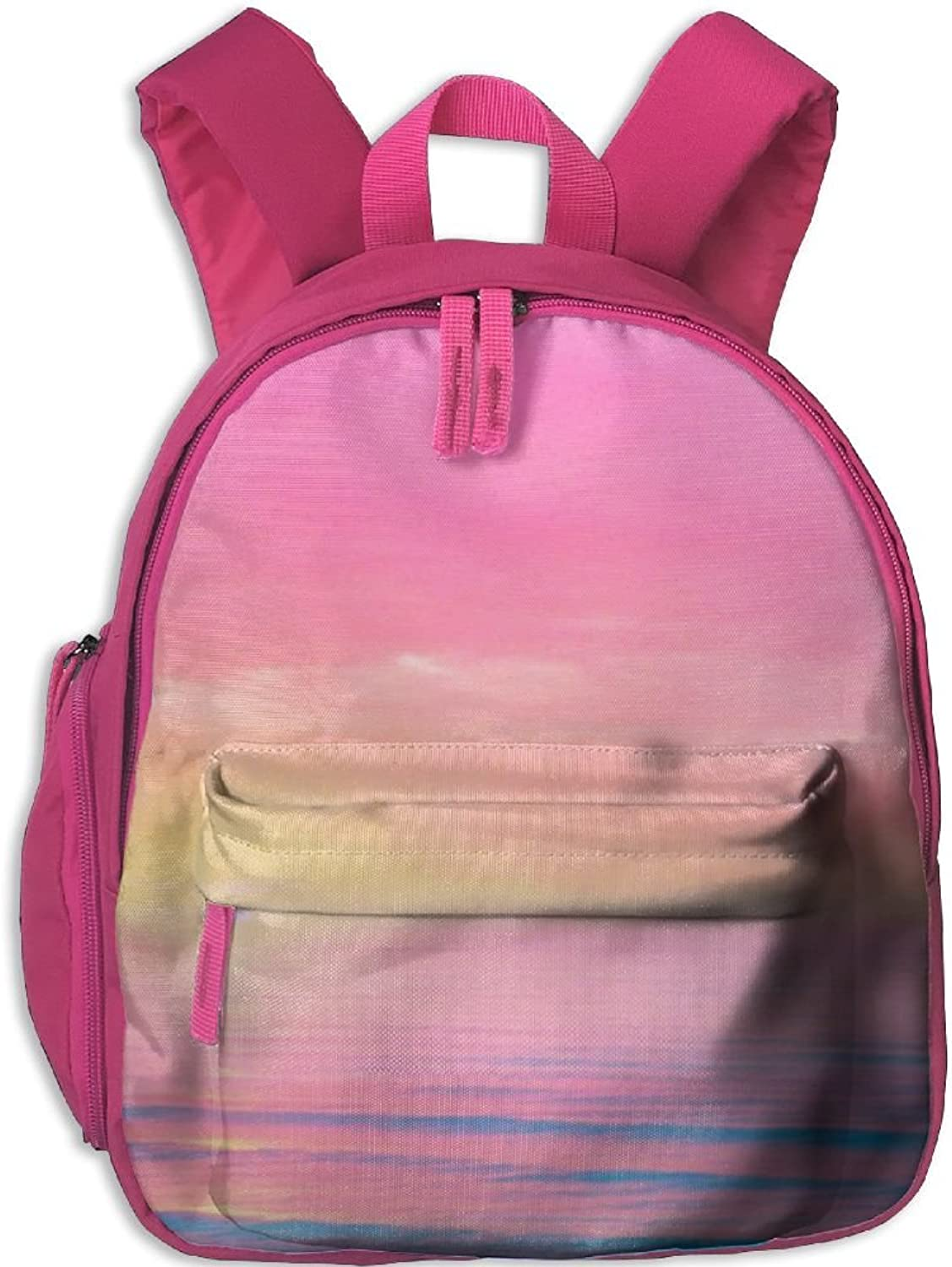 Pinta Setting Sun Cub Cool School Book Bag Backpacks for Girl's Boy's