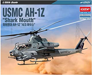 ACA12127 1:35 Academy USMC AH-1Z Cobra 'Shark Mouth' [Model Building KIT]