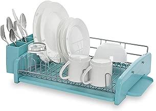 KitchenAid 3-Piece Dish Rack, Aqua Sky - KCS896BXAQA