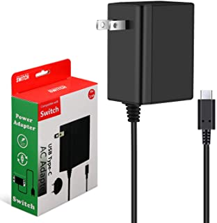 Switch ACアダプター 充電器 PD規格 急速充電 TVモード対応 USB Type-C PSE認証済み Switch&Switch Lite&Switch 有機elモデル対応