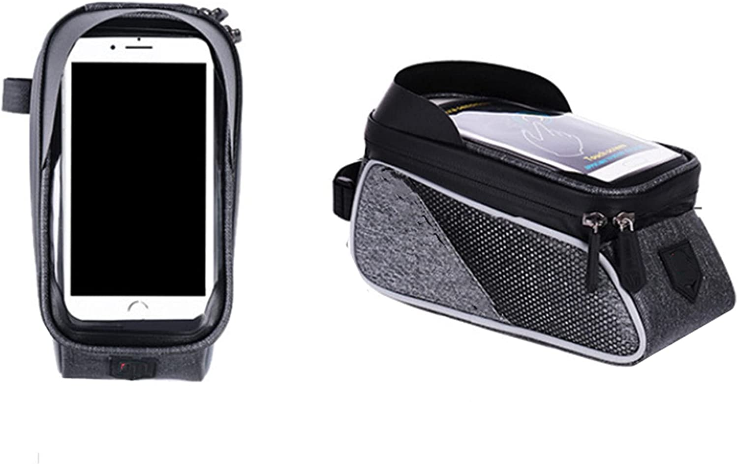 Bike Phone Front Frame Bag Many popular brands Waterproof Max 72% OFF Trunk Sad Bicycle
