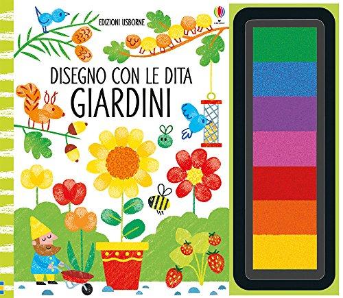 Giardini. Disegno con le dita. Ediz. illustrata. Con gadget