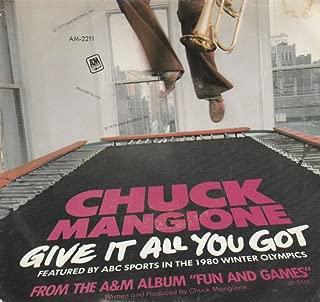 Chuck Mangione 45 RPM Give it All You Got / B'Bye
