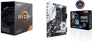 Pack gráfica ASUS y Procesador AMD: Ryzen 5 3600 y Prime X570-PRO