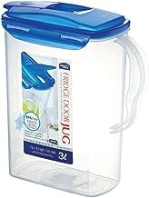 LOCK & LOCK Fridge Door Water Jug with Flip Top Lid 101.44-oz / 12.68-cup