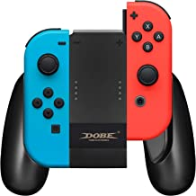 Joy Con Charging Grip, Joycon Comfort Grip with Type-C PowerPort and Charging Cable for Nintendo Switch