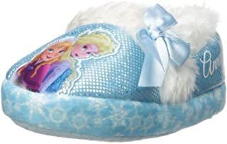 Disne Disney Girl's Anna and Elsa Aline Slippers