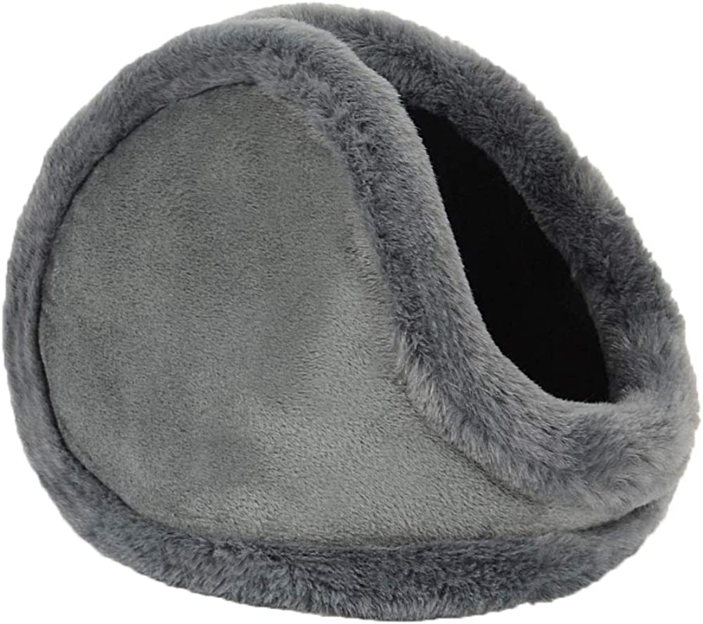 Men Fur Earmuffs Winter Windproof Head Warmers Outdoor Soft Cold Weather Protective Thermal Ear Cover