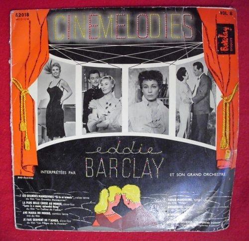 Disco Vinilo - Old vinyl .- Músique de Films par EDDIE BARCLAY...