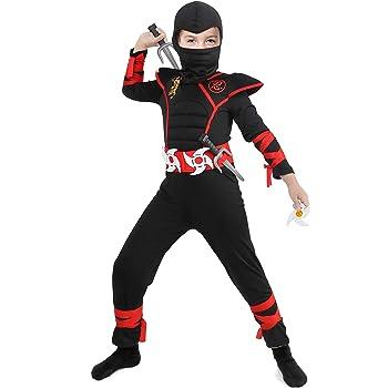 Tacobear Disfraz de Power Ninja para Niño Disfraz Infantil de ...