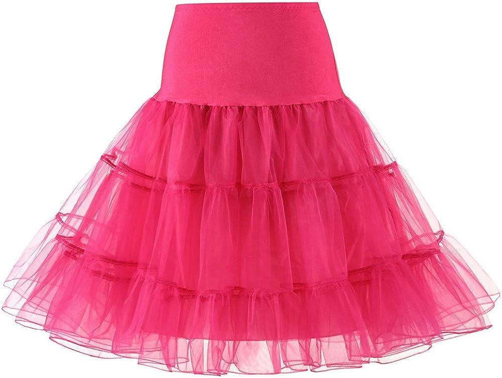 hnmkiu Womens Fashion High Waist Pleated Short Skirt Adult Tutu Dancing Skirt