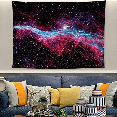 NTtie Tapiz Dormitorio Sala Dormitorio Decoración Paisaje de Cielo Estrellado Pinturas Colgantes Tela de Fondo de Tela Colgante