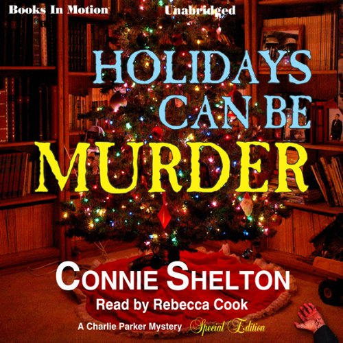 Holidays Can Be Murder audiobook cover art