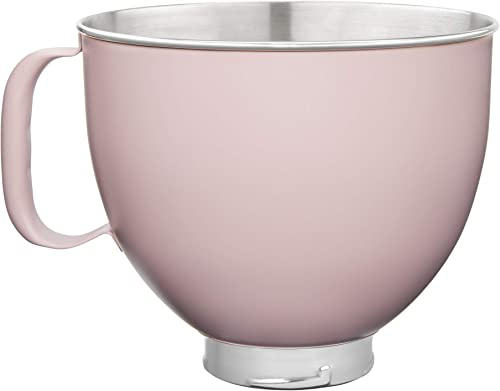 popular KitchenAid new arrival KSM5SSBDR online sale Custom Stand Mixer Bowl, 5 quart, Dried Rose Painted Stainless Steel online sale