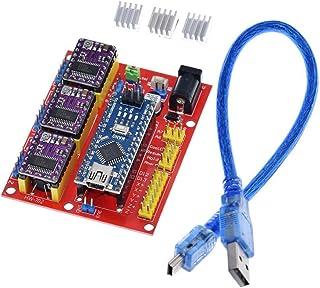 5pcs DRV8825 M/ódulo de controlador paso a paso Kit de impresora 3D 1pcs RAMPS 1.6 Controlador Rampas 1.6 Kit Mega 2560 R3 para arduino