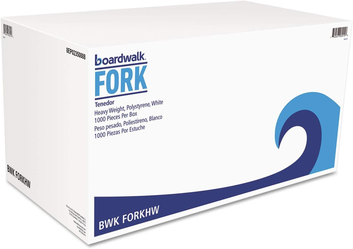 Selling and Gorgeous selling Boardwalk FORKHW Heavyweight Polystyrene 1 Fork Cutlery White