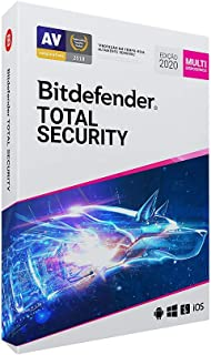 Bitdefender Total Security - 5 dispositivos, 1 ano (Digital - Via Download)