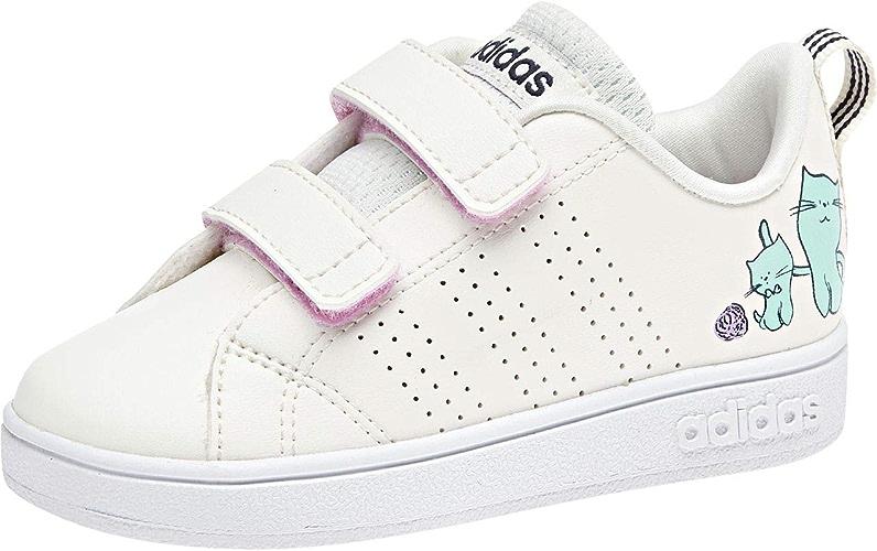 Adidas Vs ADV Cl CMF Inf, Chaussures de Fitness Mixte Enfant