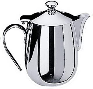 Mepra Bombata 20064112 150 CL. Coffee Pot – Silver Finish Serveware, Dishwasher Safe Coffee Pot