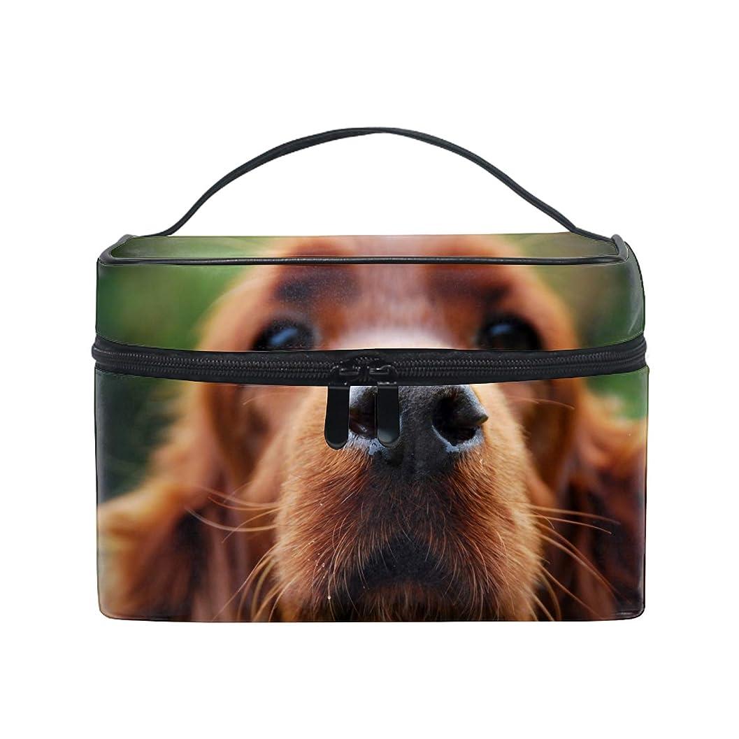探検システム検索エンジン最適化アメリカンコッカースパニエルおさる犬コスメ 化粧 ポーチ レディース 大容量 コンパクト 中身が見やすい 防水 シンプル 小物入れ 旅行