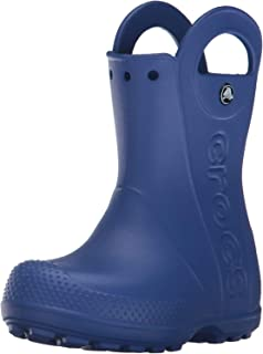 Crocs Handle It Rain Boot Kids, Stivali di Gomma Unisex – Bambini