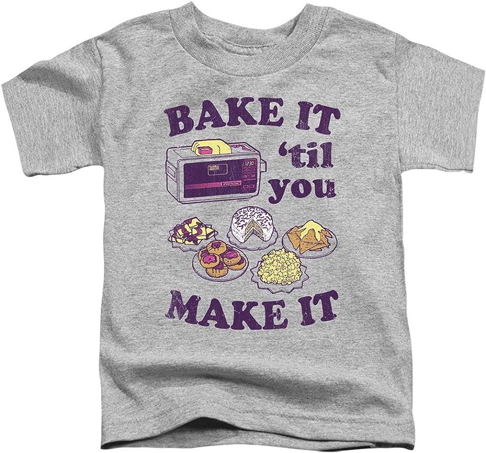 Easy Bake Oven Bake It Til You Make It Unisex Toddler T Shirt for Boys and Girls