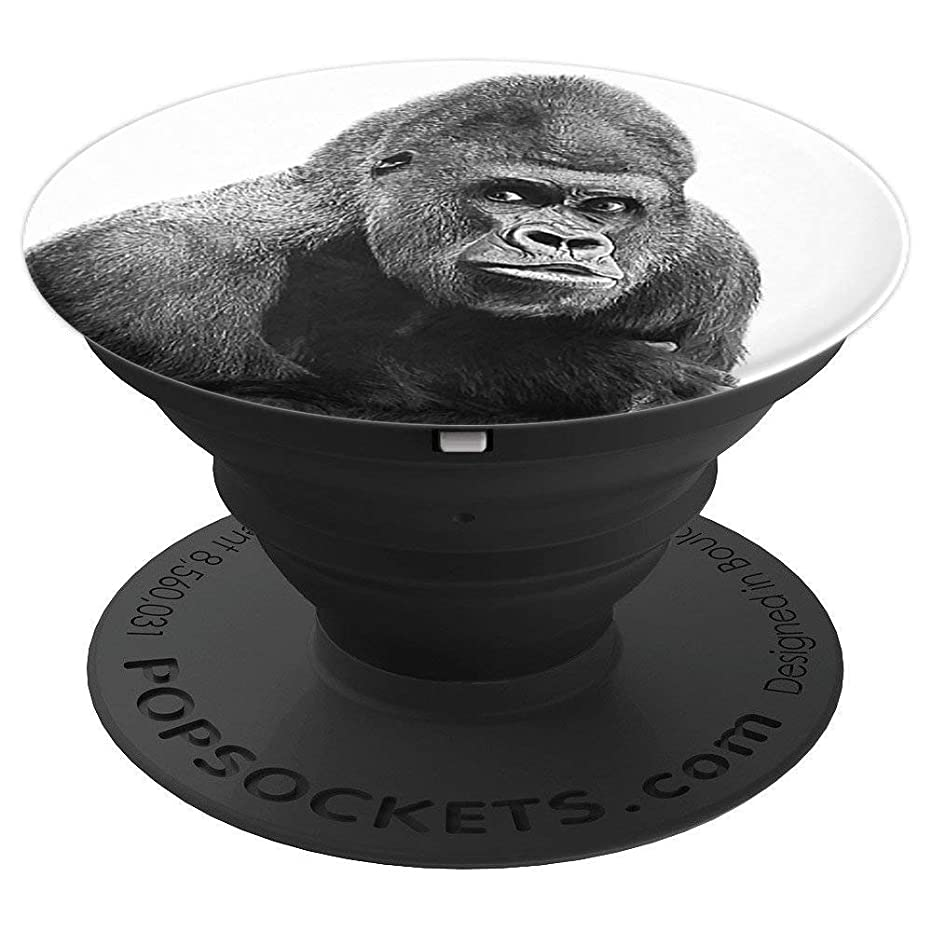 Pop Socket Gorilla Silverback Cute Monkey Wild - PopSockets Grip and Stand for Phones and Tablets