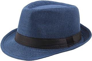 BABEYOND 1920s Panama Fedora Hat Cap for Men Gatsby Hat for Men 1920s Mens  Gatsby Costume e44127547593