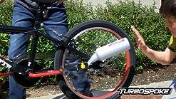 Sistema de Escape de Bicicleta de 14 x 3 Pulgadas Bicicleta de pl/ástico Premium Turbo Pipe Ahorro de energ/ía econ/ómico para Bicicletas de 16-22 Pulgadas
