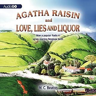 Agatha Raisin and Love, Lies, and Liquor cover art