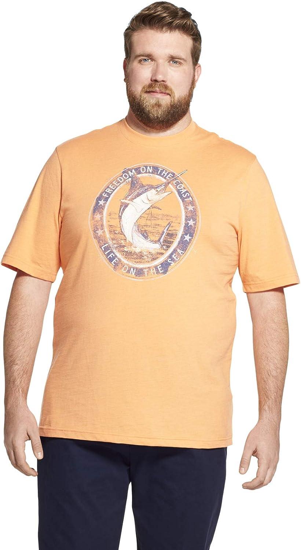 IZOD Men's Big and Tall Graphic T-Shirt