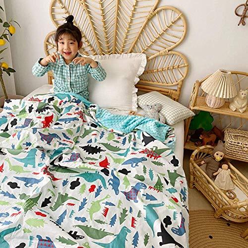 GXYtable cloth Mantas de algodón para un Verano Fresco, edredones para niños con Aire Acondicionado y cómodas Mantas de Tapa de sofá Cama (Color : B, Size : 120x150cm)